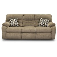 Stone Brown Power Reclining Sofa - Tribute