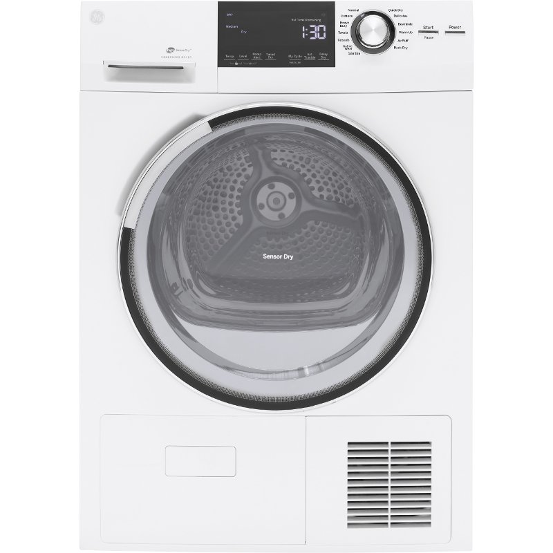 GE 24 Inch Electric Dryer - 4.0 Cu. Ft. White