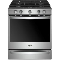 WEG750H0HZ Whirlpool Gas Range - 5.8 cu. ft. Stainless Steel