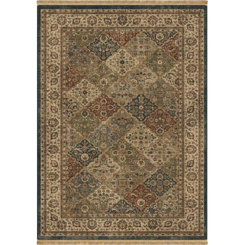 5 X 7 Medium Transitional Multi Colored Area Rug Marrakesh Rc Willey Furniture