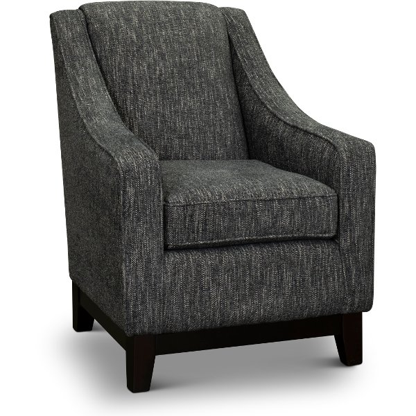 Exceptionnel ... Transitional Smoke Gray Accent Chair   Mariko