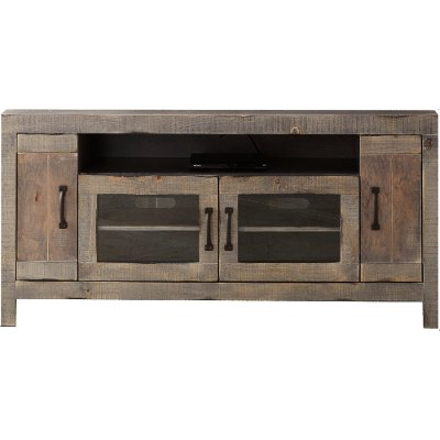 Farmhouse Rustic 61 Inch TV Stand - Devonshire
