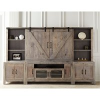 Rustic Farmhouse Entertainment Center - Devonshire