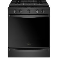 WEG750H0HB Whirlpool Gas Range - 5.8 cu. ft. Black