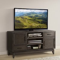 Walnut Brown Transitional 54 Inch TV Stand - Vogue