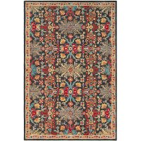 TBZ1006-810 8 x 10 Large Multi-Colored Area Rug - Tabriz