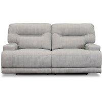 Sterling Gray Power Reclining Sofa - Stanza