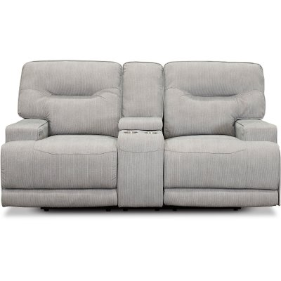 Peachy Sterling Gray 3 Piece Power Reclining Sectional Sofa Stanza Cjindustries Chair Design For Home Cjindustriesco