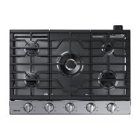 NA30N7755TS Samsung 30 Inch Dual Power Burner Smart Gas Cooktop - Stainless Steel