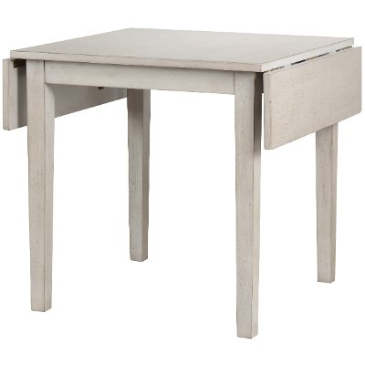 Light Gray Rustic Dining Table - Carmel