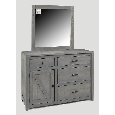 Rustic Gray Dresser - Urban Ranch