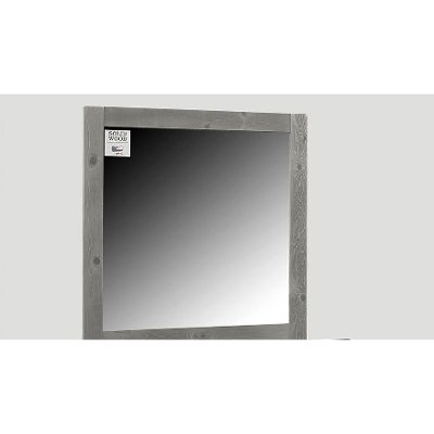 Rustic Gray Mirror - Urban Ranch