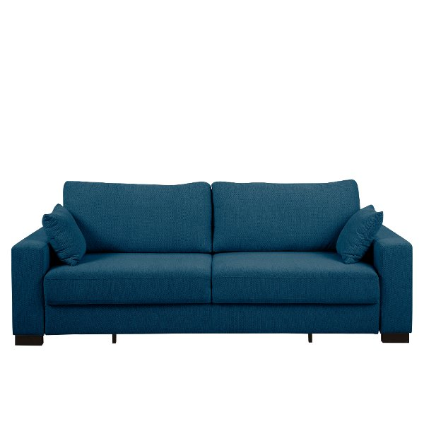Contemporary Turquoise Blue Sofa Bed Canterbury