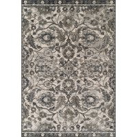 5 x 8 Medium Pewter Gray Area Rug - Cadence