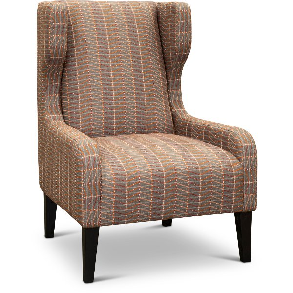 ... Contemporary Tuscan Red Accent Chair   Pia