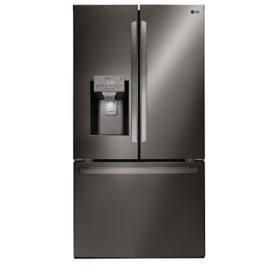 LFXS26973D LG 26.2 cu. ft. French Door Smart Refrigerator - 36 Inch Black Stainless Steel