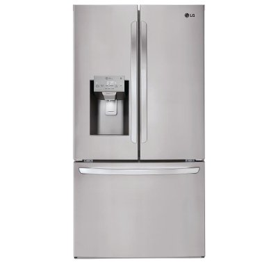 LFXS26973S LG 26.2 cu. ft. French Door Smart Refrigerator - 36 Inch Stainless Steel
