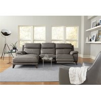 Reclining Sofa With Left Arm