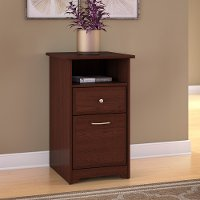 Cherry Brown 2 Drawer File Cabinet - Cabot