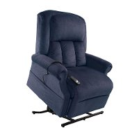 Ocean Blue Power Lift Chair - Lunar