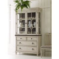 Linen China Cabinet - Brookhaven