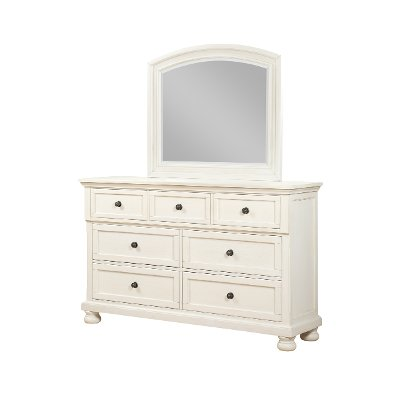 Classic Traditional Off-White Dresser - Stella