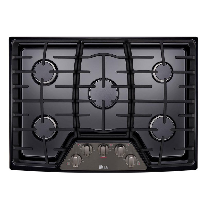 Lcg3011bd Lg 30 Inch Gas Cooktop Black Stainless Steel