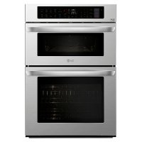 LWC3063ST LG 30 Inch Smart Combination Wall Oven with Microwave - 6.4 cu. ft. Stainless Steel