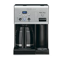 CHW-12 Cuisinart Coffee Plus 12 Cup Programmable Coffeemaker Plus Hot Water System