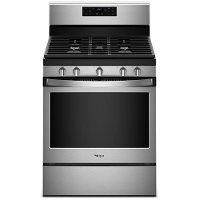 WFG525S0HS Whilpool 30 Inch Gas Range - 5.0 cu. ft. Stainless Steel
