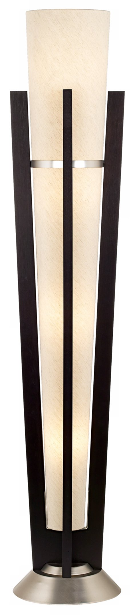Espresso Trophy Uplight Floor Lamp