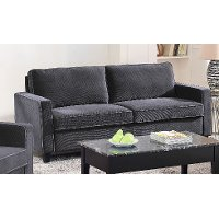 Contemporary Dark Gray Sofa - Greenfield