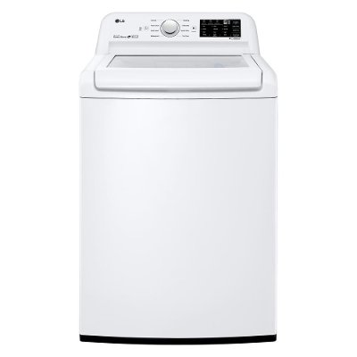 WT7100CW LG Clear Top Top Load Washer - 4.5 cu. ft. White