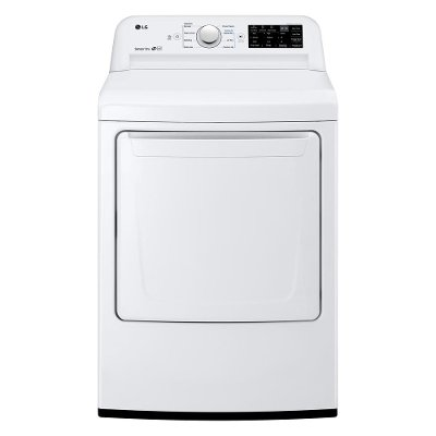 DLE7100W LG Electric Dryer with Dial-a-Cycle - White