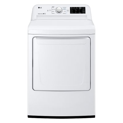 DLG7101W LG Gas Dryer with Dial-a-Cycle - White