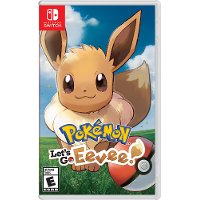 SWI HACPADW3A Pokemon: Let's Go, Eevee! - Nintendo Switch