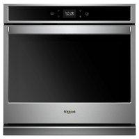 WOS51EC7HS Whirlpool 27 Inch Smart Single Wall Oven with Touchscreen - 4.3 cu. ft. Stainless Steel