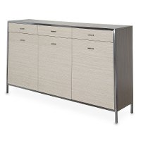 Contemporary Sand Dining Sideboard - Silverlake Village