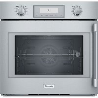 POD301LW Thermador 30 Inch Single Wall Oven with Right Side Handle - 4.5 cu. ft. Stainless Steel