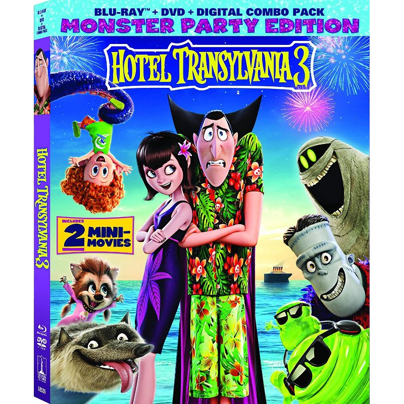 Now at RC Willey, Hotel Transylvania 3: Summer Vacation lets you join our favorite monster family as they embark on a vacation on a luxury monster cruise ship so Drac can take a summer vacation from providing everyone else's vacation at the hotel. It's smooth sailing for Drac's Pack as the monsters indulge in all of the shipboard fun the cruise has to offer, from monster volleyball to exotic excursions, and catching up on their moon tans. But the dream vacation turns into a nightmare when Mavis realizes Drac has fallen for the mysterious captain of the ship, Ericka, who hides a dangerous secret that could destroy all of monsterkind. Starring Adam Sandler, Selena Gomez, Andy Samberg, Asher Blinkoff, Kevin James, Keegan-Michael Key, Steve Bus