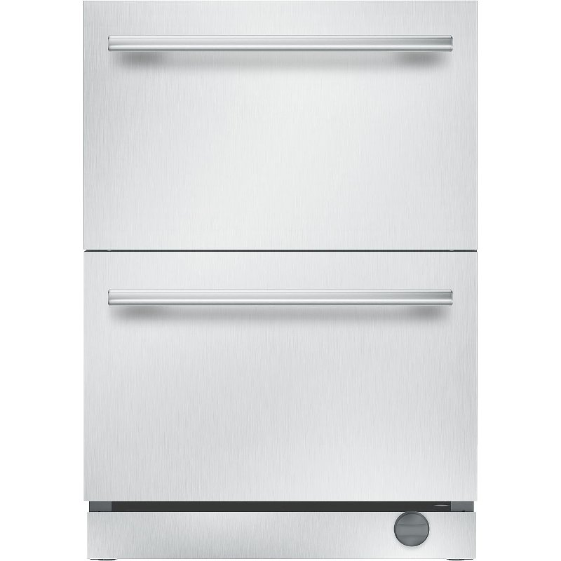 Thermador Under Counter Double Drawer Refrigerator Freezer White