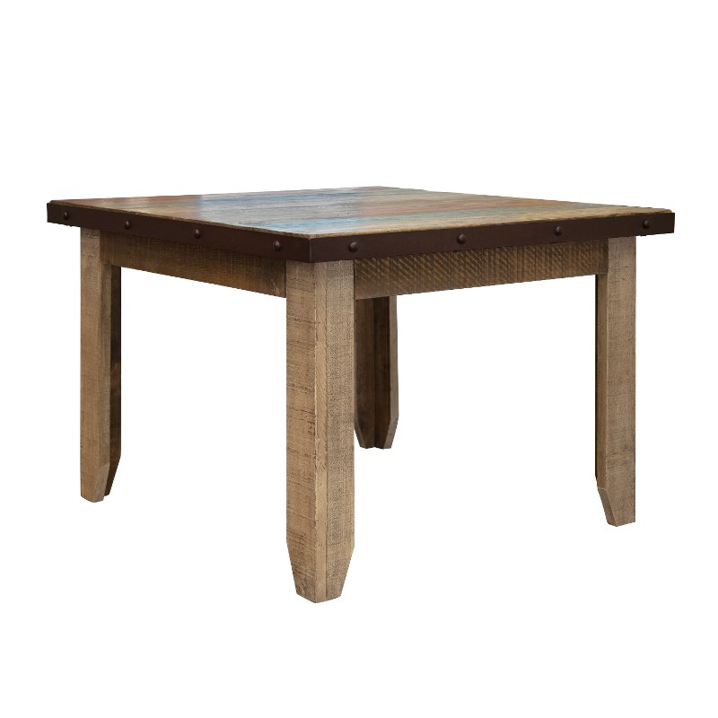Rustic Dining Room Table - Antique