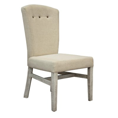 Ivory Upholstered Dining Chair - Bonanza