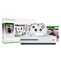 XB1 MIC 234575 NBA 2K19 1TB Xbox One S Bundle - White