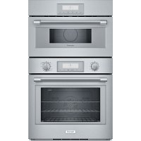 POM301W Thermador Combo Wall Oven with Microwave - Stainless Steel