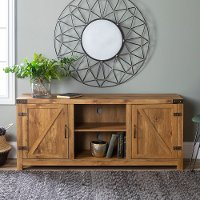 Barnwood 58 Inch Rustic TV Stand