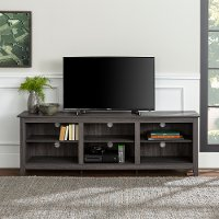 Modern 70 Inch Charcoal TV Stand