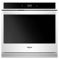 WOS51EC0HW Whirlpool 30 Inch Smart Single Wall Oven with Touchscreen - 5.0 cu. ft. White