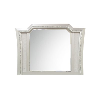 Contemporary Champagne Platinum Mirror - Kaitlyn