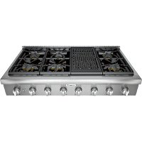 PCG486WL Thermador Gas Rangetop - 48 inch Stainless Steel